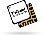 TriQuint high power, packaged GaN SPDT switches to 18GHz. TGS2352-2-SM and TGS2353-2-SM