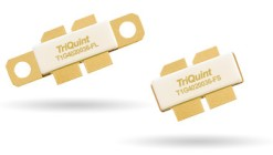 260W P3dB GaN transistors from TriQuint cover DC-3.5GHz. Flanged or earless Gemini package. T1G4020036-FL and T1G4020036-FS