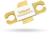 Wideband, DC-3.5GHz GaN transistors from TriQuint offer 30W. T2G4003532-FS and T2G4003532-FL