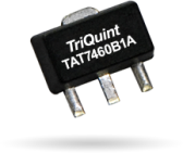 TriQuint TAT7460B1A, linear, 75-ohm, CATV amplifier addresses CATV and Satellite bands