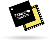TriQuint TQC9305, 0.7 to 3.6GHz DVGA features a shutdown pin function for TDD applications