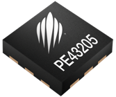 Peregrine Semiconductor's PE43205, 2-bit, fast-switching digital step attenuator.