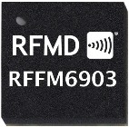 RFMD RFFM6903 1watt FEM reduces portable equipment costs