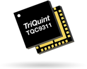 TriQuint TQC9311 dual channel DVGA offers lowest noise figure