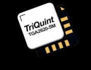 TGA2620-SM, TriQuint's 16-18GHz driver amplifier delivering 19dBm Psat