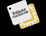 The TriQuint TGA2594-HM is a 36.5 dBm GaN power amplifier serving 27 – 31GHz applications