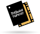 The Qorvo TQP9107 offers 35.5dB of gain with 31.4dBm output power.