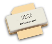 NXP's BLF2425M7LS140 140W CW power with 18.5dB of gain. 2400 to 2500MHz ISM band