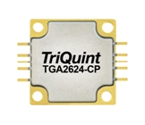TGA2624-CP, 9 to 10GHz power amplifier from TriQuint (Qorvo).
