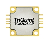 TGA2625-CP, 10 to 11GHz power amplifier from TriQuint (Qorvo).