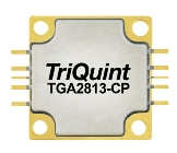 TGA2813-CP, 3.1 to 3.6GHz, 100W GaN power amplifier from TriQuint (Qorvo).