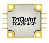 TGA2814-CP, 3.1 to 3.6GHz, 80W GaN power amplifier from TriQuint (Qorvo).