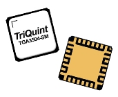 TGA3504-SM, 2 to 30GHz Gain Block from TriQuint (Qorvo) offers 8dBm of output P1dB