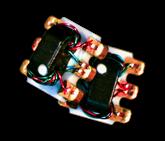 5-1200MHz passive, 2-way CATV splitter from MiniRF. 75 ohms. MRFSP5725
