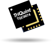 The Qorvo TQC9074 combines a gain block, voltage variable attenuator and 0.5W linear amplifier.