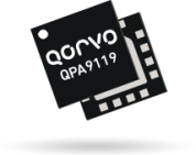 Qorvo's 27dBm QPA9119 amp covers 400-4200MHz with +44dBm OIP3
