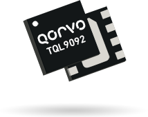 Qorvo's TQL9092 LNA offers flat gain. 0.7 to 4GHz