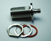 API Inmet 5212-462 Moisture Resistant N to SMA Bulkhead Adapter