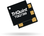 The Qorvo TQQ7399 DC to 2700MHz through line with 0.15dB loss