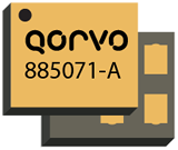 Qorvo's 885071-A AEC-Q200 qual'd BAW filter allows coexistence of 2.4GHz and 4G LTE.