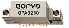 Qorvo QPA3230, 45–1218MHz GaAs/GaN power doubler provides 22.5dB gain @ 1218MHz.