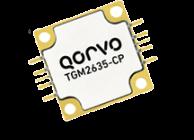 Qorvo TGM2635-CP, 100W, X-band, GaN power amplifier with >35% PAE.