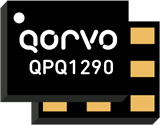 Qorvo QPQ1290 highly selective Band 41 BAW filter rejects WiFi.