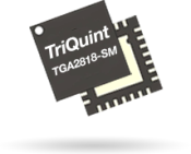 The TGA2818-SM provides 30W of saturated output power for S-band Radar systems operating over 2.8 – 3.7GHz.