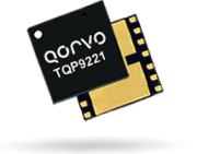Qorvo TQP9221 linear amplifier offers 30dB of gain from 2.01 to 2.17GHz.