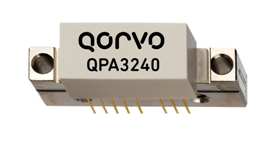 Qorvo's QPA3240 supports DOCSIS 3.1 CATV with up to 24.5dB gain from 45-1218MHz.