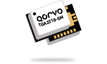 The Qorvo TGA2218-SM offers 12W of saturated output power from 13.4 to 16.5GHz.