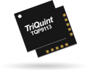 Qorvo TQP9113, 2-stage linear amp with 1W P1dB and 27dB gain from 1.8 to 2.7GHz