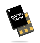 Qorvo TQQ6107 LTE B-7 BAW duplexer for Small Cells