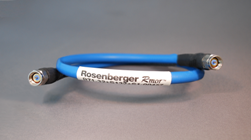 Rosenberger's armored cable assembly R71-32+S132+S1-00457 with performance to 36GHz. SMA+ connectors.