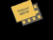 Qorvo 885135 2.4GHz BAW coexistence filter handles 28dBm power.
