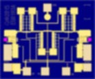 Qorvo TGL2767 voltage variable attenuator (VVA). 20dB attenuation. 2-25GHz frequency range.