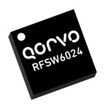 Qorvo RFSW6024 SPDT switch with 60dB isolation from 5 to 6000MHz