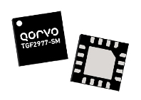 Qorvo TGF2977-SM provides 5W of saturated power from 8 to 12GHz