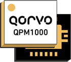 Qorvo's QPM1000, an integrated, 2-20GHz limiter/low noise amplifier.