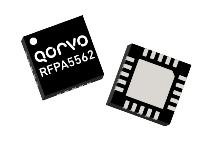 Qorvo RFPA5562 5GHz Wi-Fi Power Amplifier from RFMW offers 33dB Gain