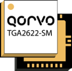 Qorvo TGA2622-SM, 9 – 10GHz, 35 watt, GaN power amplifier targeted towards weather and marine radar