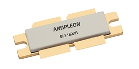 Ampleon BLF189XR 1900W LDMOS transistor CW spans 30 to 150MHz