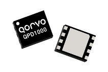Qorvo QPD1000 with 15W P3dB of 15W for applications from 30 to 1215MHz