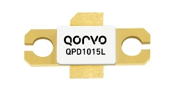 Qorvo GaN transistors QPD1015L and QPD1015 offer 20dB of gain from DC to 3700MHz