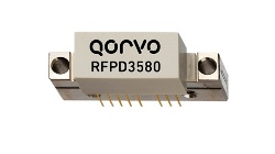 Qorvo RFPD3580 45 to 1218MHz DOCSIS 3 1 power doubler with over 22dB of gain