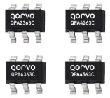 Qorvo gain blocks operate over a frequency range of 50 to 4000MHz QPA2363C QPA4263C QPA4363C and QPA4563C