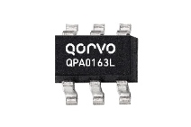 Qorvo QPA0163L Cascadable HBT Amplifier with 16dB gain from 100 to 1300MHz