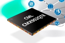 CML Microcircuits' CMX902 39dB gain RF power amplifier IC with 60% efficiency from 130 to 700MHz