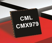 CML Microcircuits CMX979 RF frac N synthesizer with integrated VCO offers 2700 to 3600MHz output LO