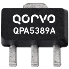 Qorvo Darlington pair gain blocks (QPA5389A, QPA6489A and QPA7489A) DC to 4500MHz for infrastructure applications